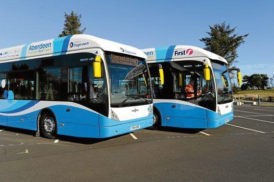 Aberdeen has 10 hydrogen-powered buses