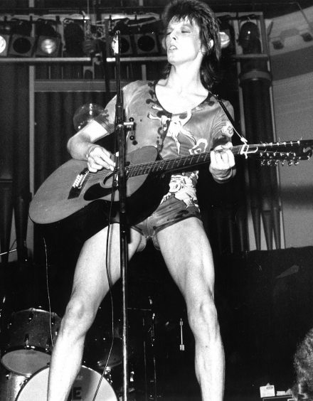 1973: David Bowie wowed crowds at the Music Hall in the seventies.