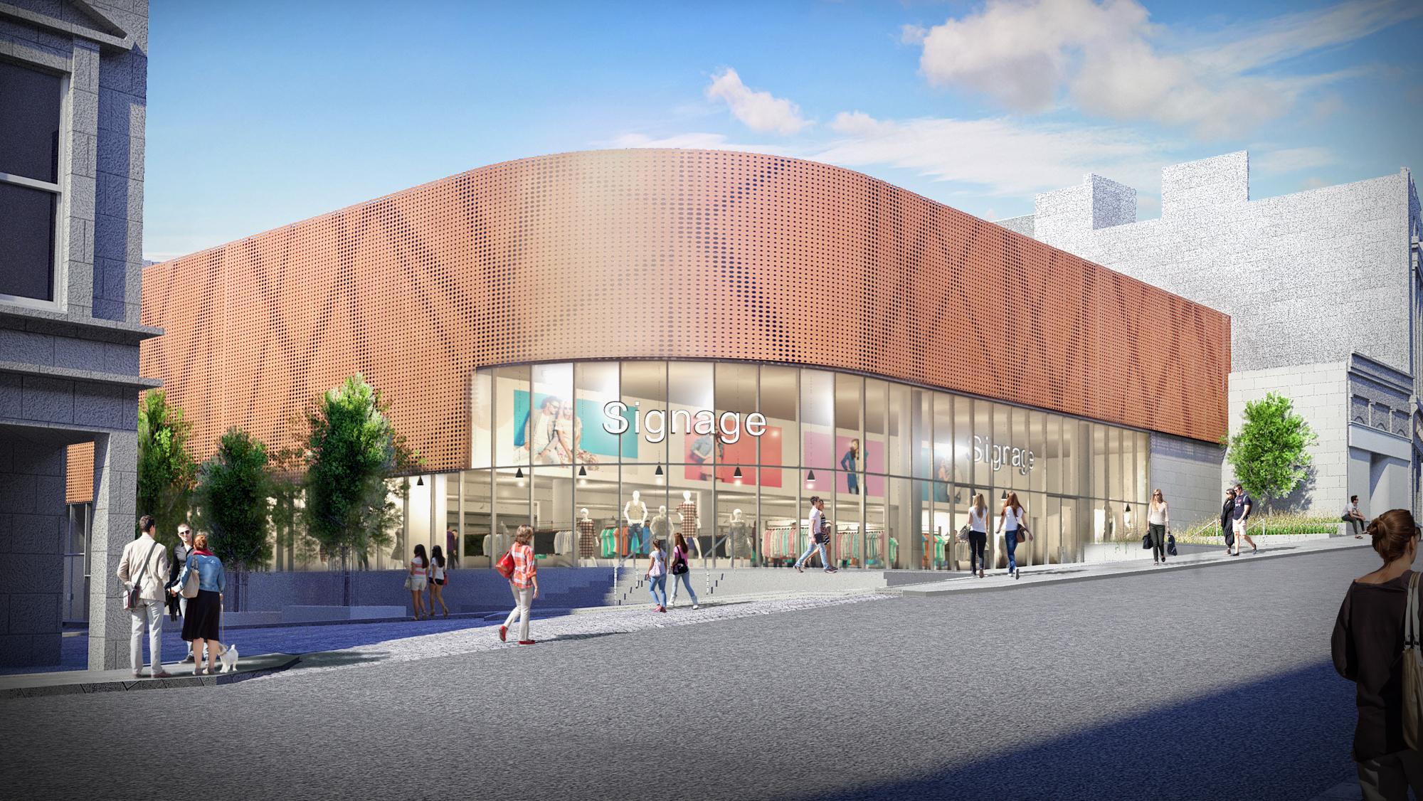 An artist's impression of Aberdeen's revamped indoor market.