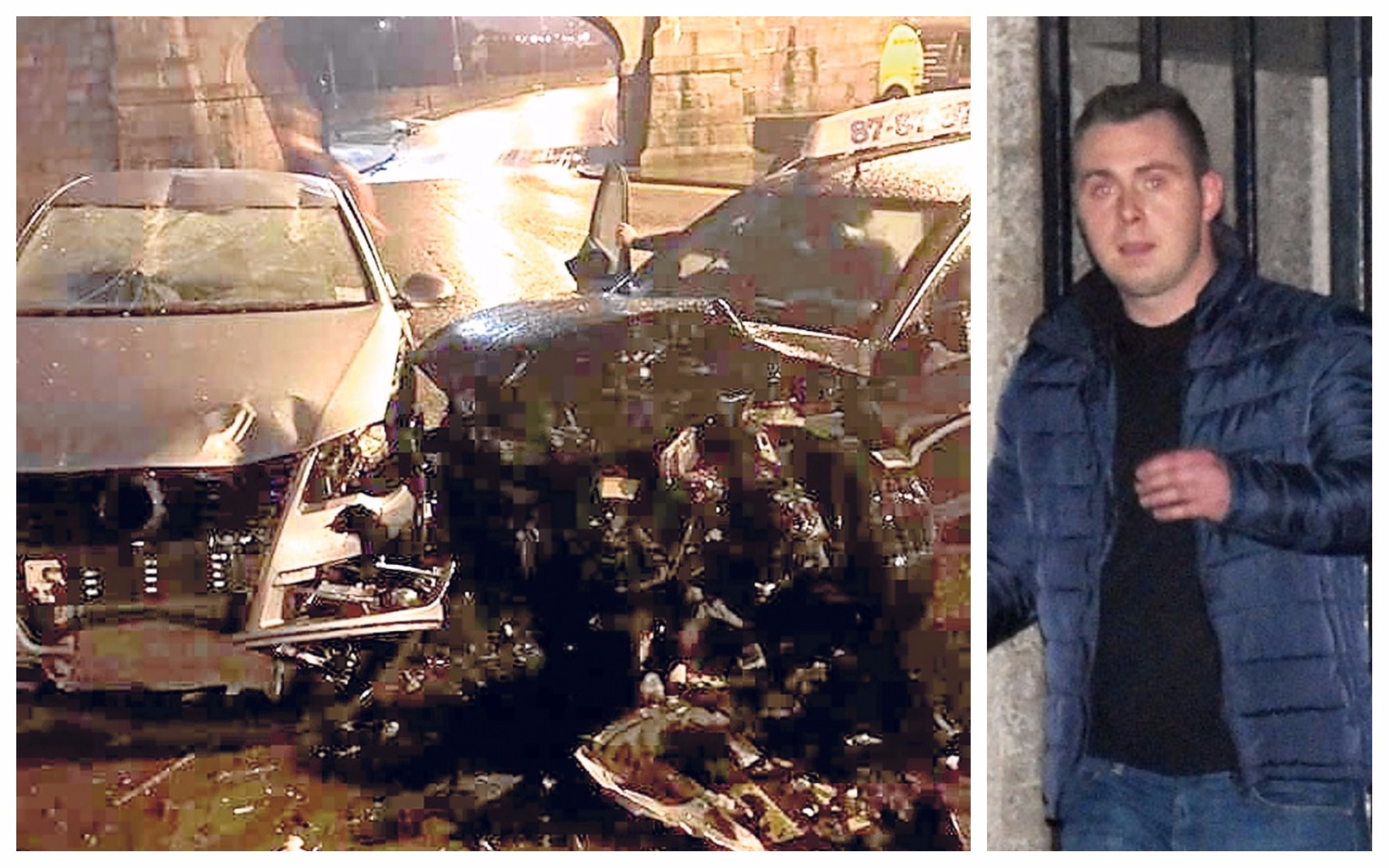 Kamil Patora had been drinking on December 31 before getting behind the wheel while more than three times the limit.
