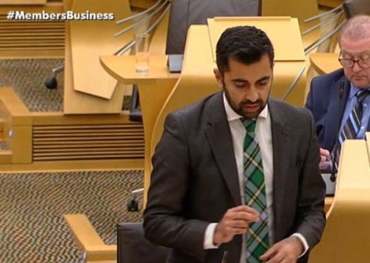 Scottish transport minister Humza Yousaf