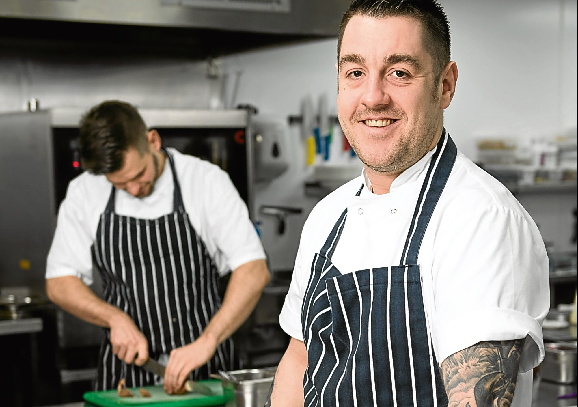 Head chef at The Rothesay Rooms restaurant, Ross Cochrane.