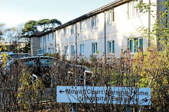 Mowat Court Care Home in Stonehaven  Picture by KEVIN EMSLIE