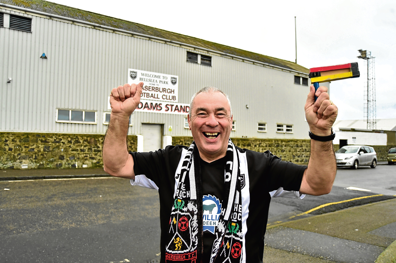 Fraserburgh Councillor Brian Topping