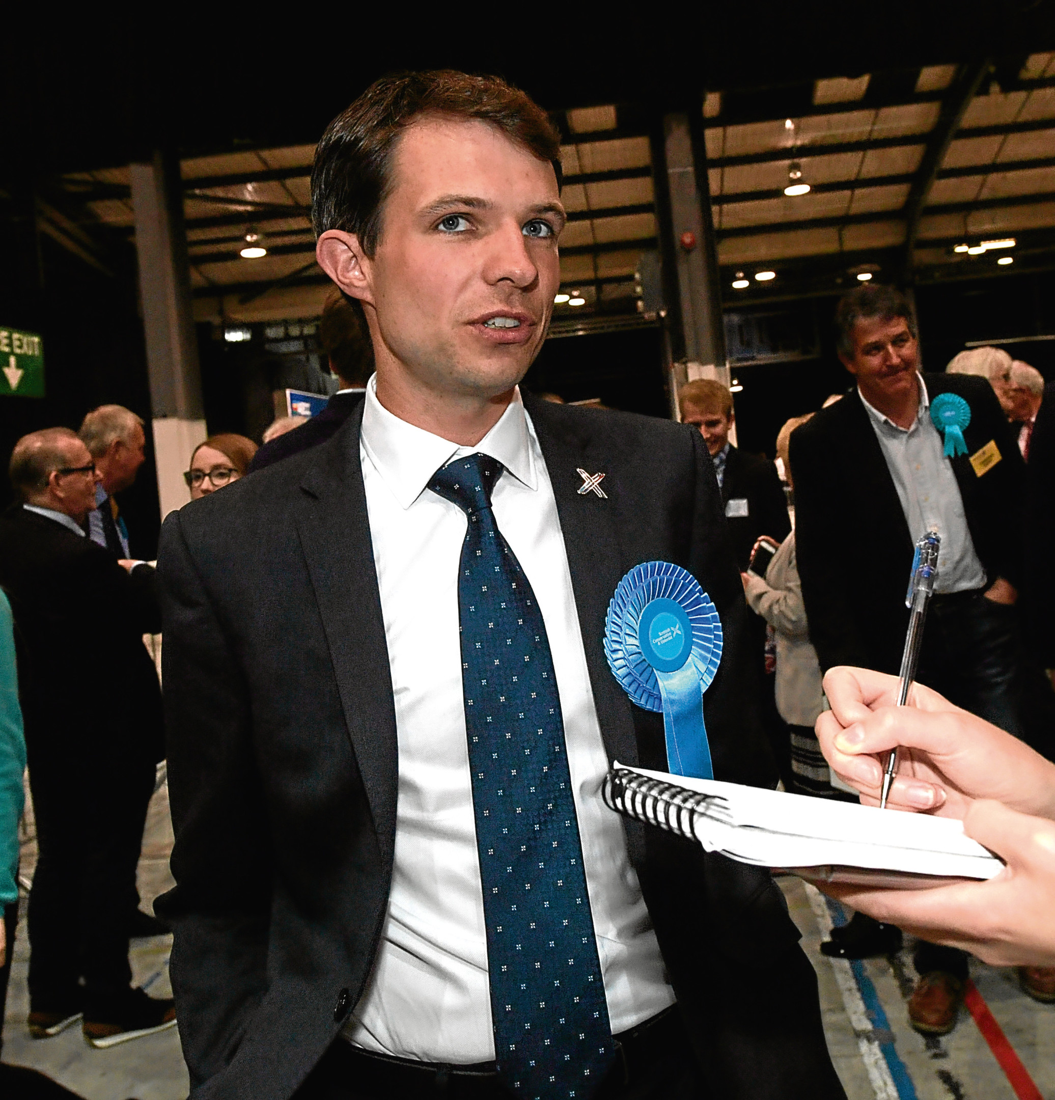 Andrew Bowie. MP for West Aberdeenshire and Kincardine.