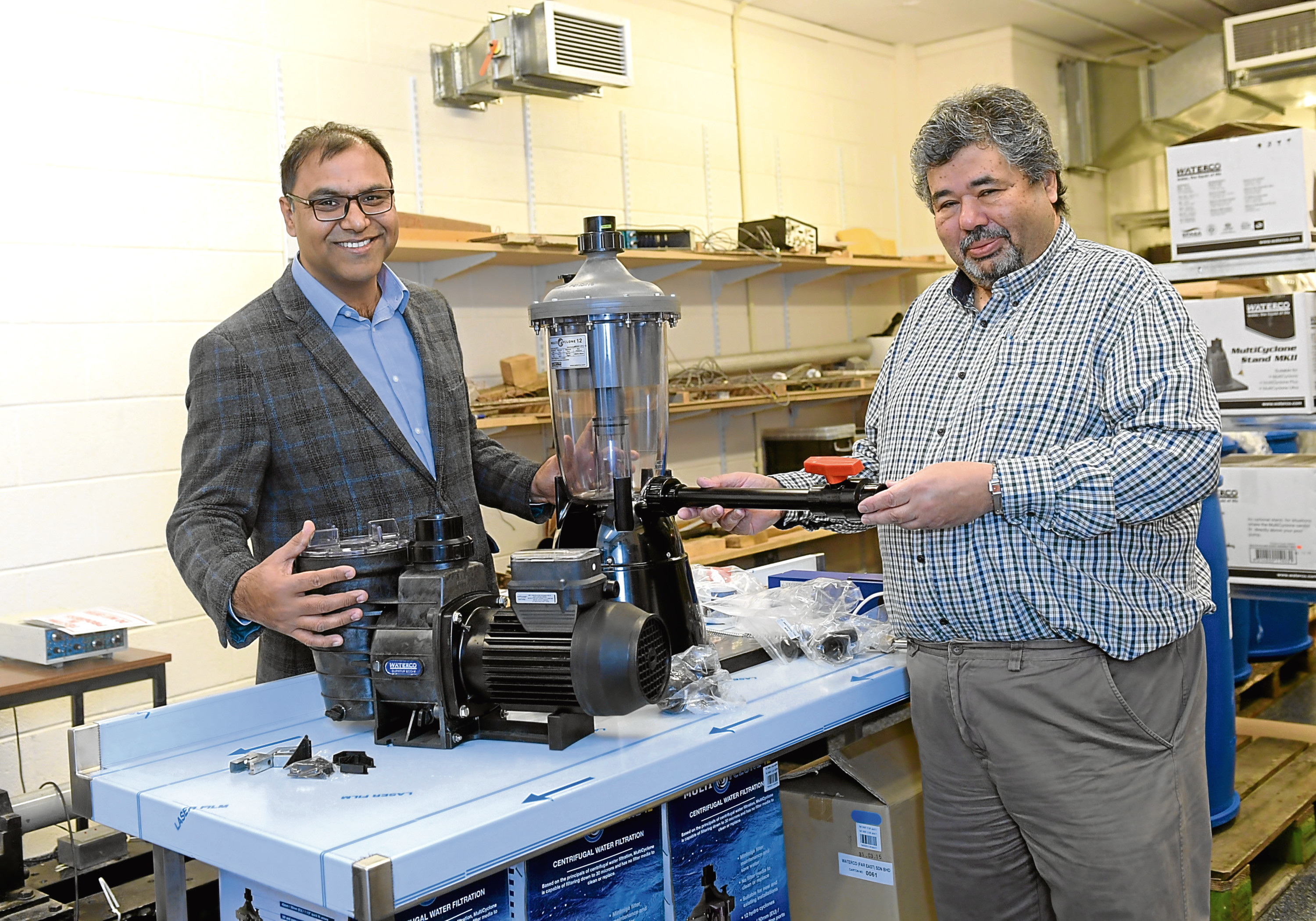 The machine has been designed by a team at the University of Aberdeen.