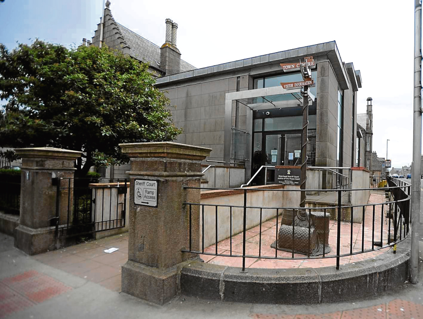 A 35-year-old from Sheffield is due to appear at Peterhead Sheriff Court today.