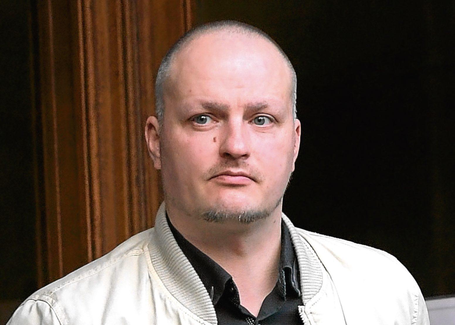 Daniel Rubruck appeared at Aberdeen Sheriff Court.