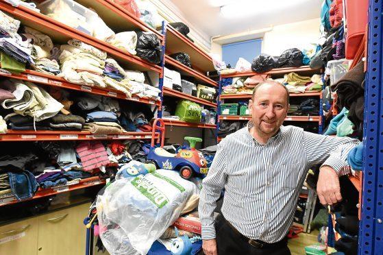 Mike Burns, CEO of Aberdeen Cyrenians