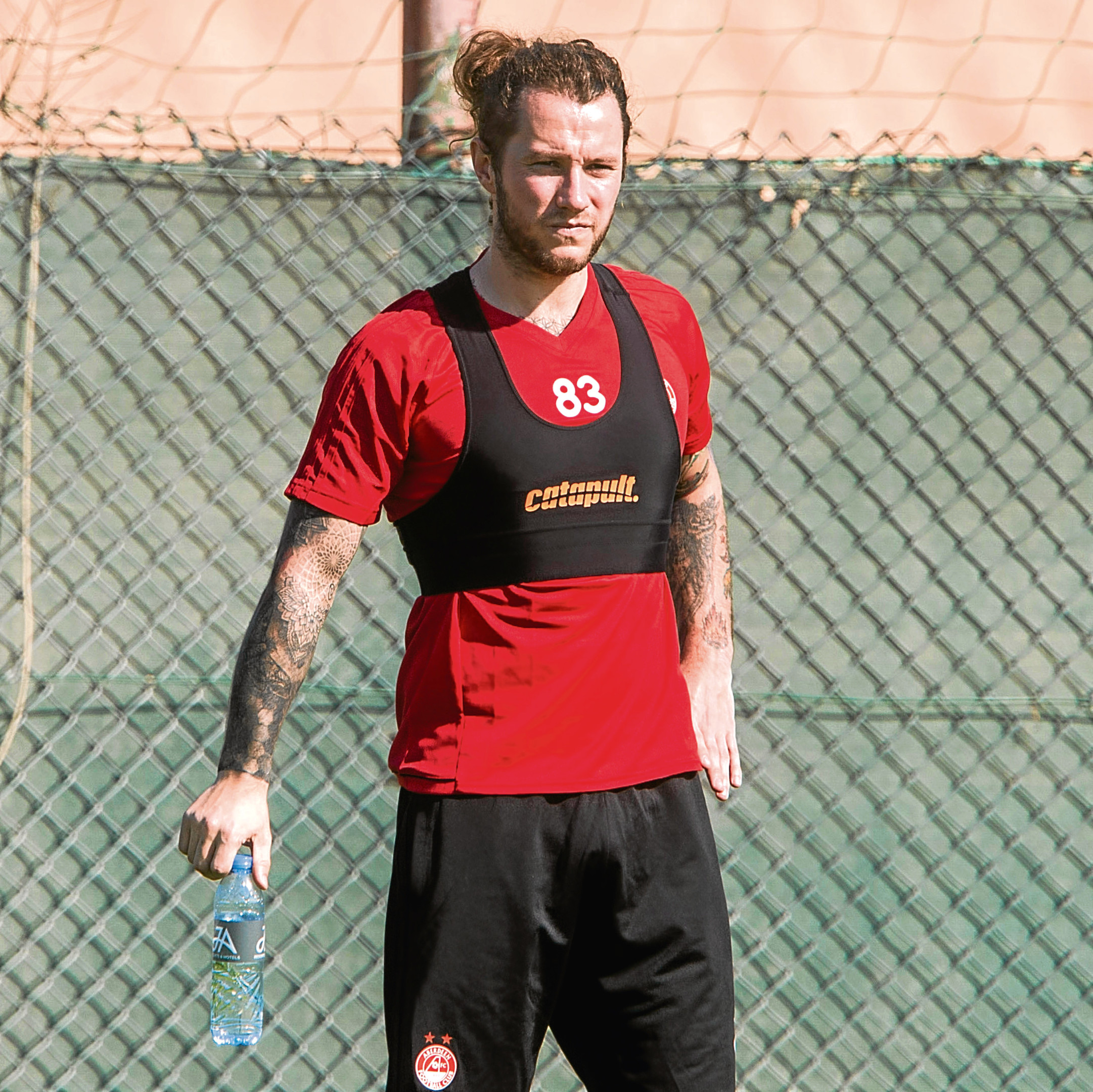 Aberdeen's Stevie May.