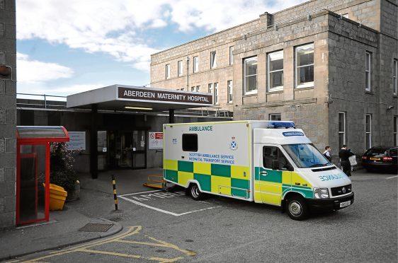Aberdeen Maternity Hospital.     Photograph by Tim Allen. 26/4/10