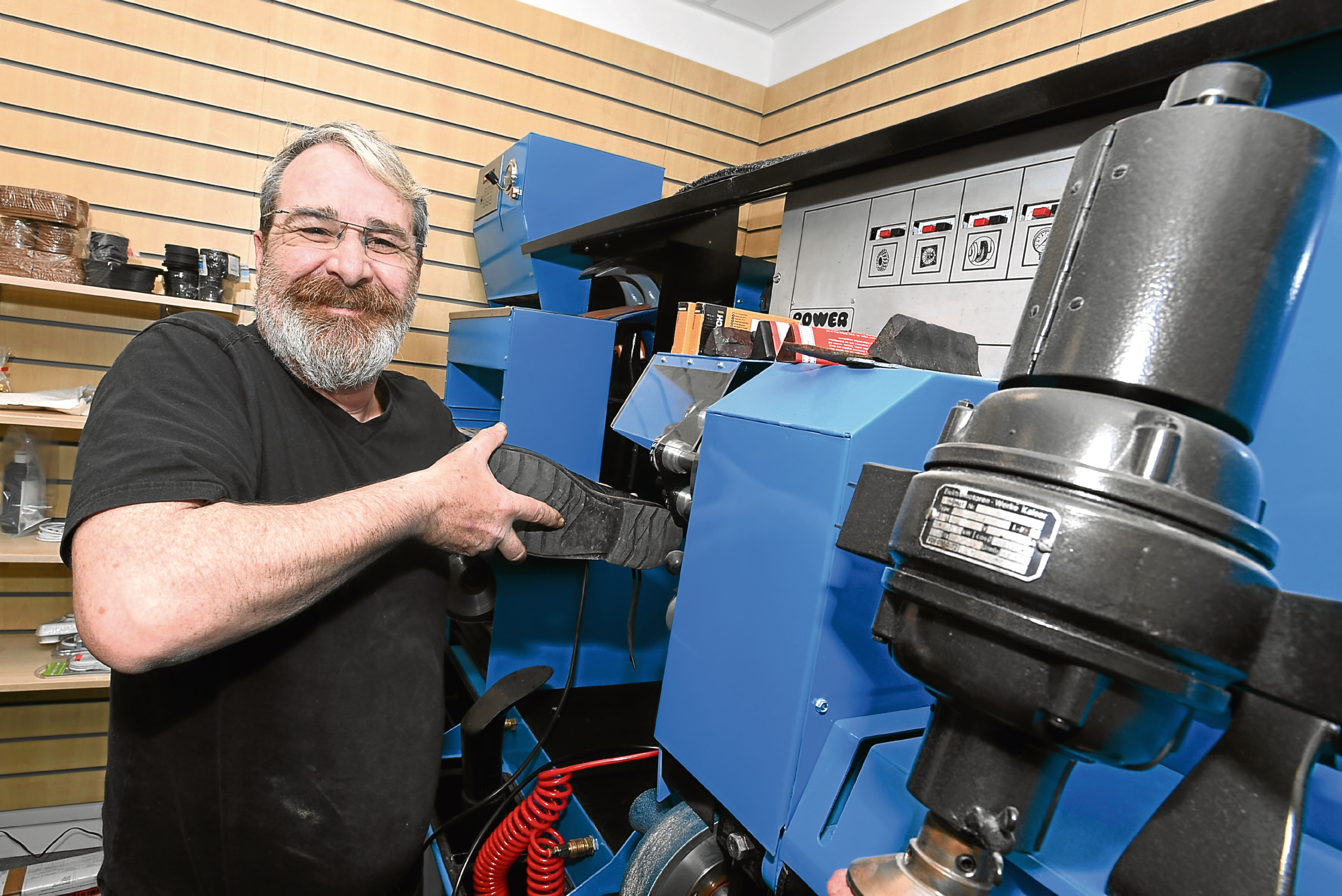 Gary Scott will officially reopen his shop on Monday.