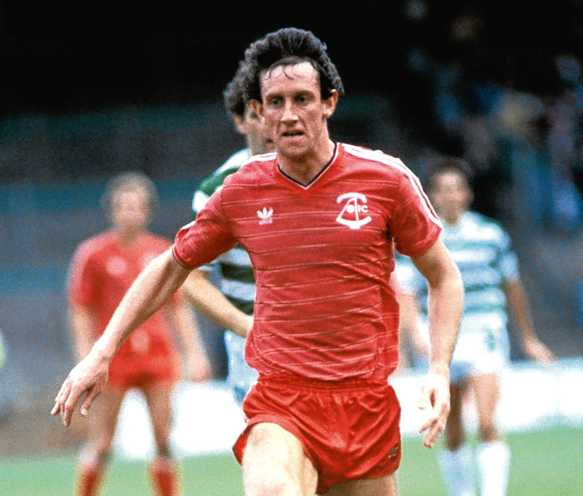 Billy Stark in his Aberdeen playing days.