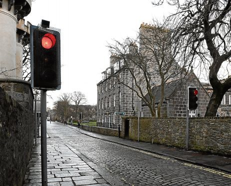 Old Aberdeen Community Council wants council bus gate on High Street.