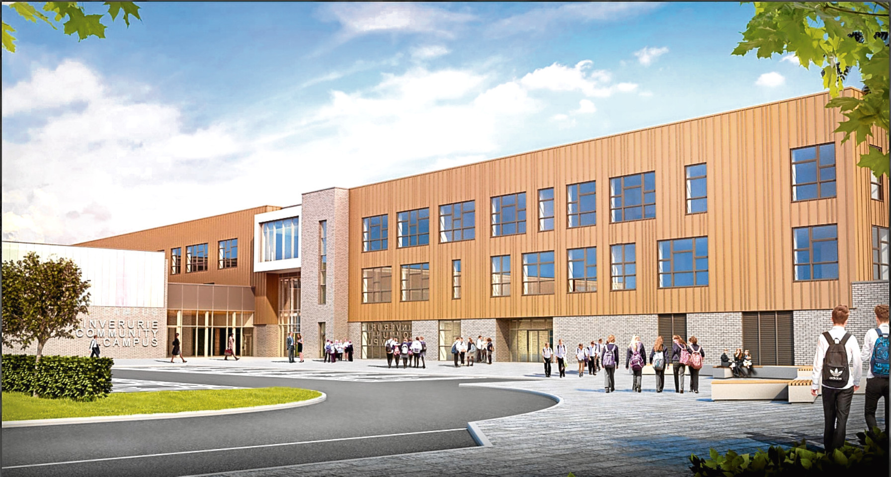 How the Inverurie school could look