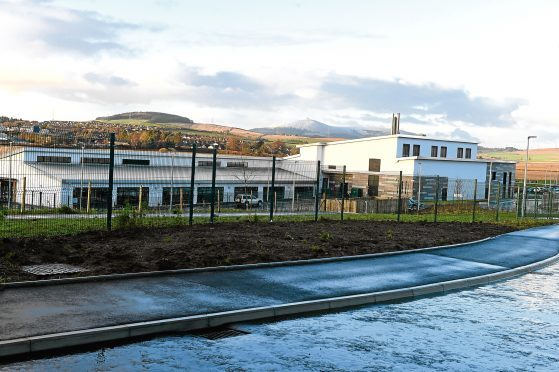 Uryside Nursery School, at Uryside School on Peregrine Drive, Inverurie.