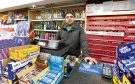 Shop assistant Mushtaq Nazir was threatened by the armed robber.