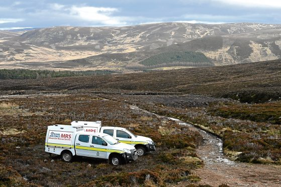 Mountain Rescue Teams at Lochnagar had been searching since Friday evening.