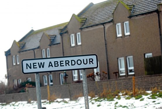 New Aberdour    New Aberdour.    Photograph by Tim Allen. 14/1/10