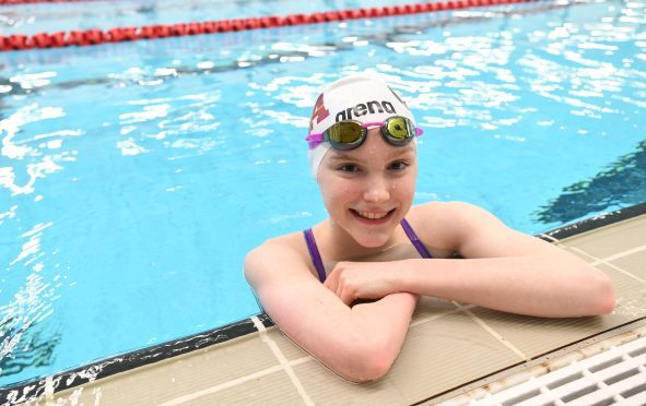 Toni Shaw from Aberdeen, at age 14, is the youngest member of Scotland's Commonwealth Games team.