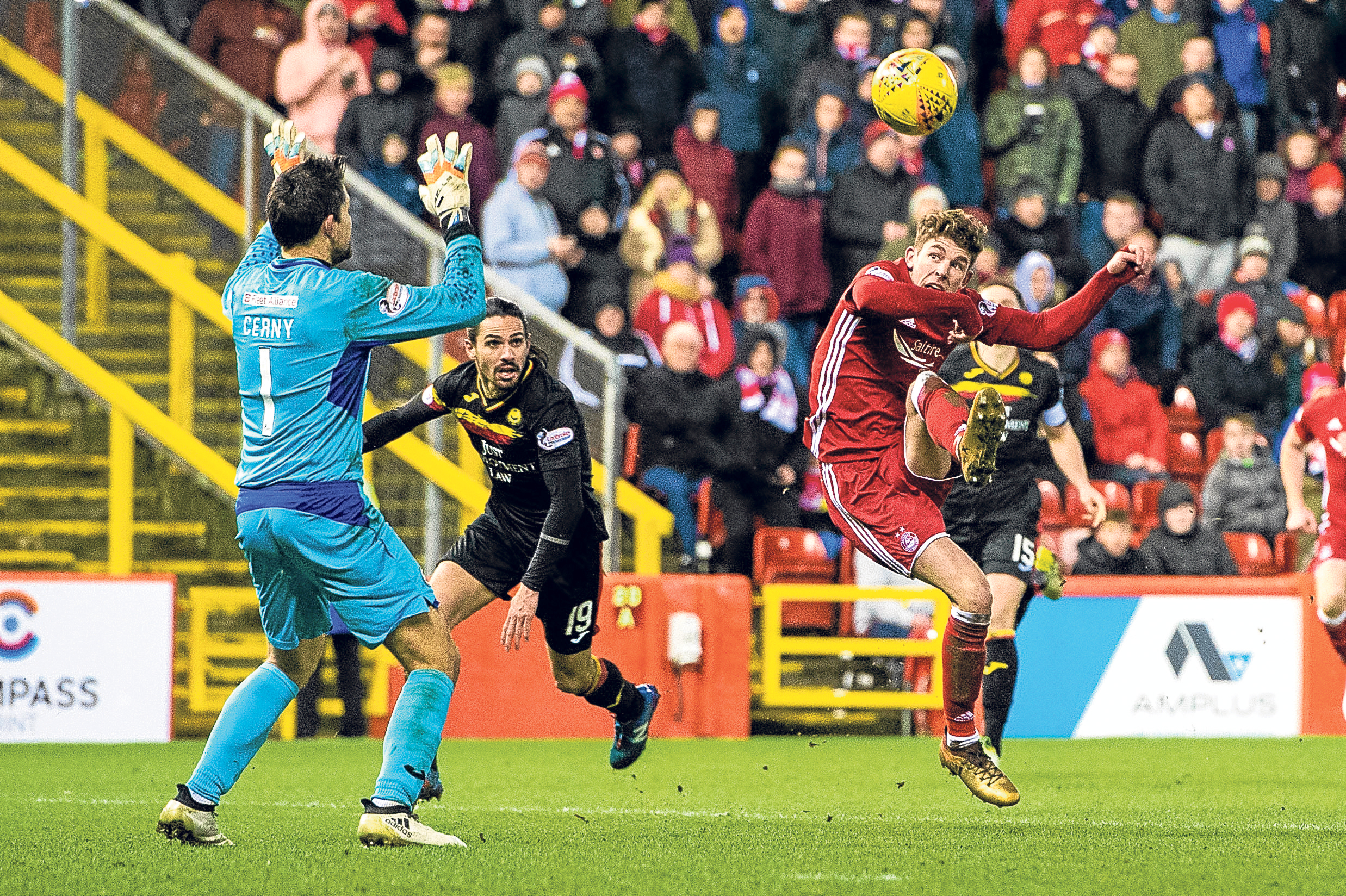 Aberdeen's Ryan Christie looked most likely to make the difference against Hearts.