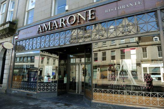 Amarone on Aberdeen's Union Street.