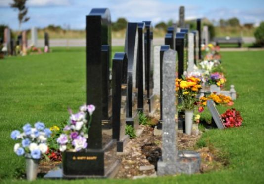 Aberdeenshire Council is proposing an increase of 25% on burial fees.