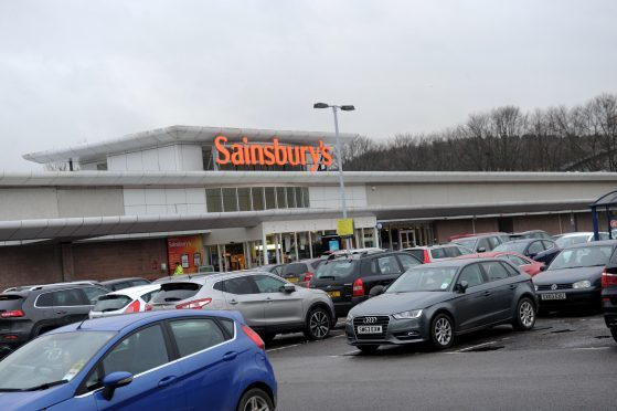 The Sainsbury's supermarket in Garthdee.