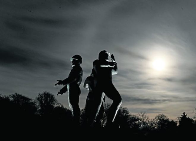 The Piper Alpha Memorial at Hazlehead Park.