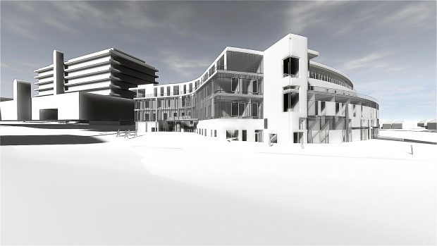 Artists impression of The Baird Family Hospital