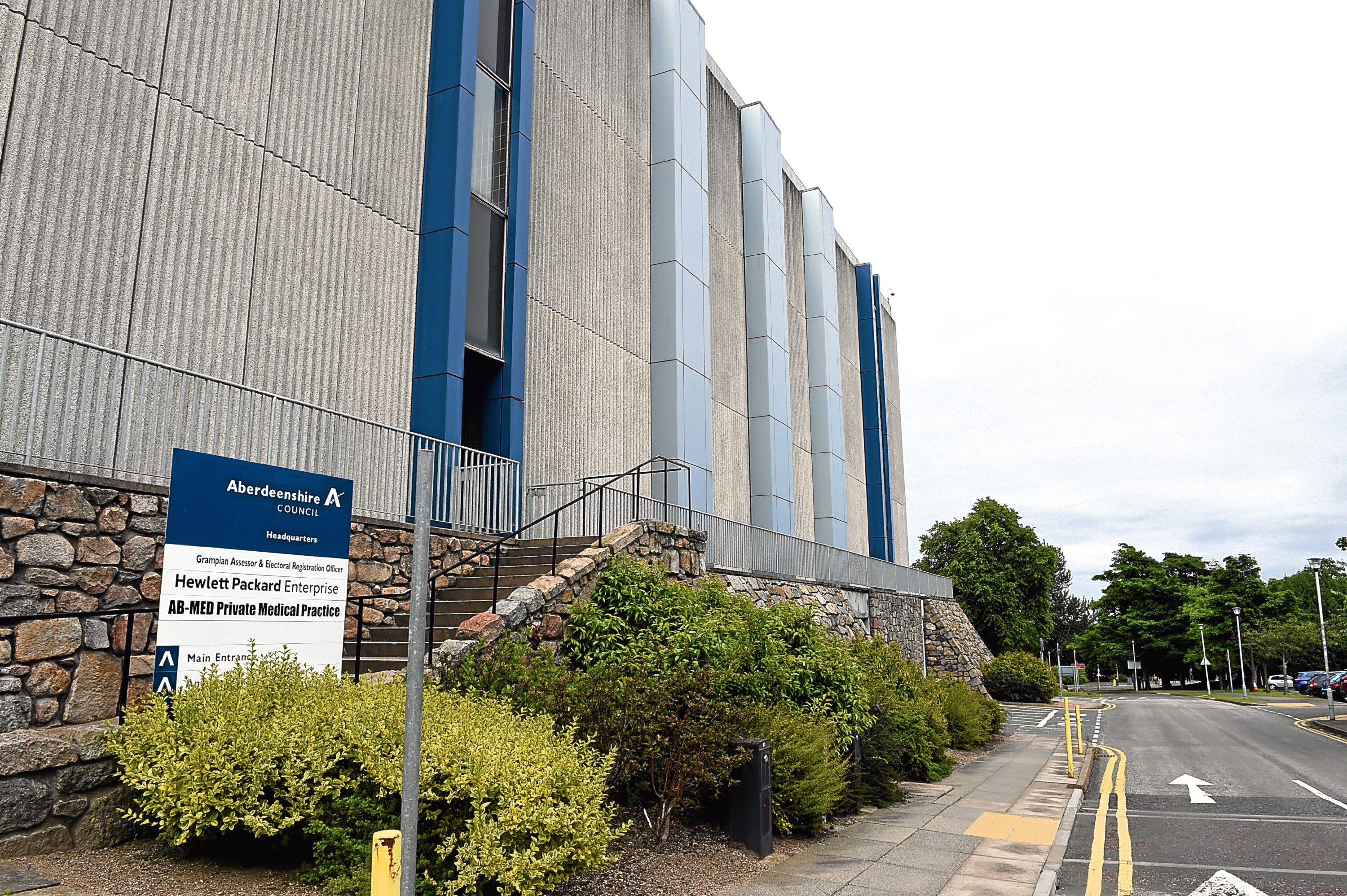 Aberdeenshire Council headquarters at Woodhill House