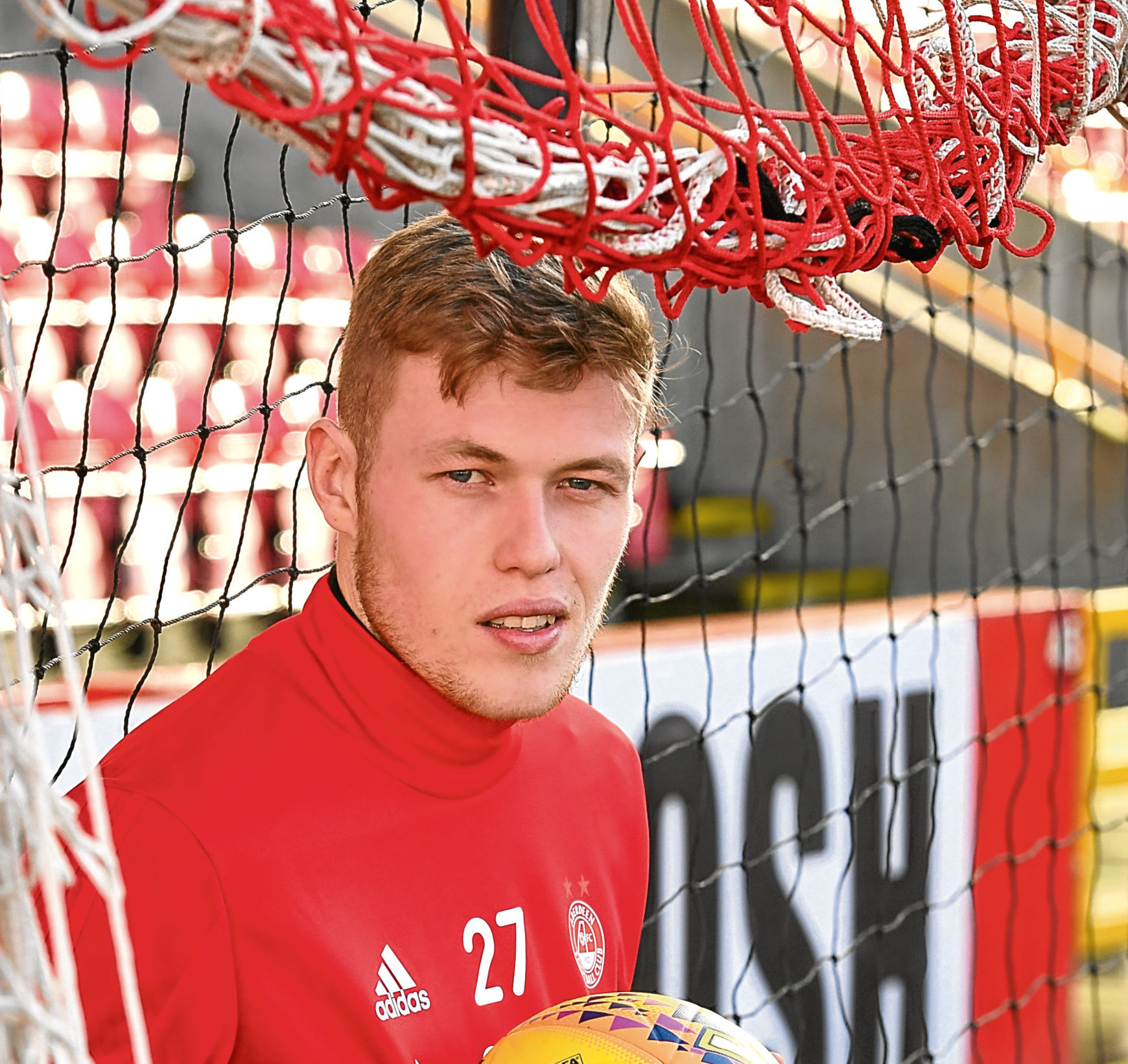 Aberdeen FC's Sam Cosgrove was sent off just minutes into his debut - but now he's one of the Scottish games hottest properties.