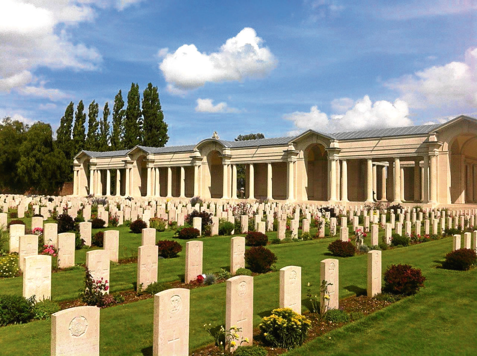 The Arras Memorial in France