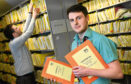 NHS Grampian patient records are moving to a new purpose-built facility.