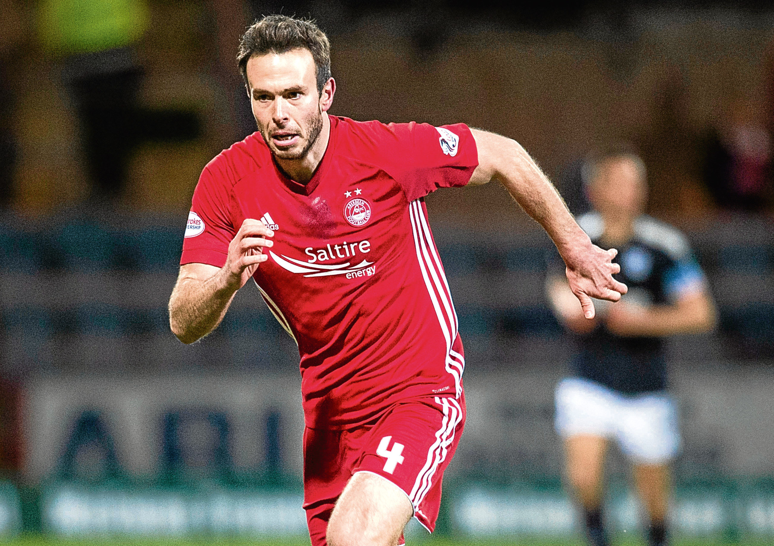 Andy Considine in action for Aberdeen.