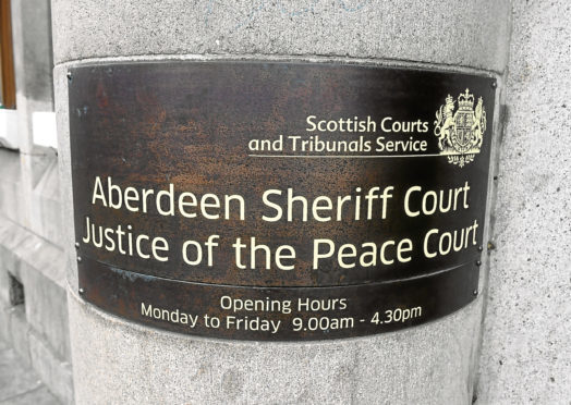 The teenager appeared at Aberdeen Sheriff Court.