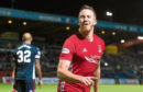 Aberdeen's Adam Rooney celebrates.