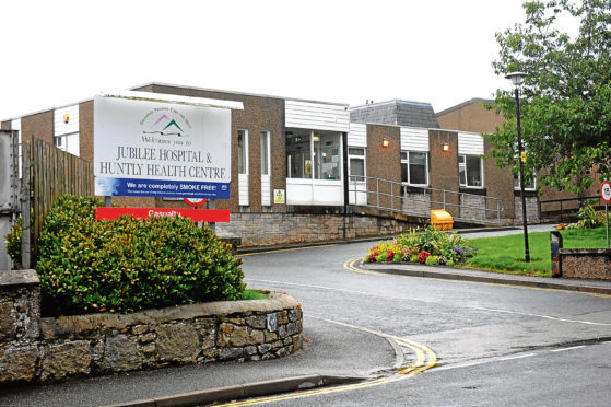 Jubilee Hospital and Huntly Health Centre.