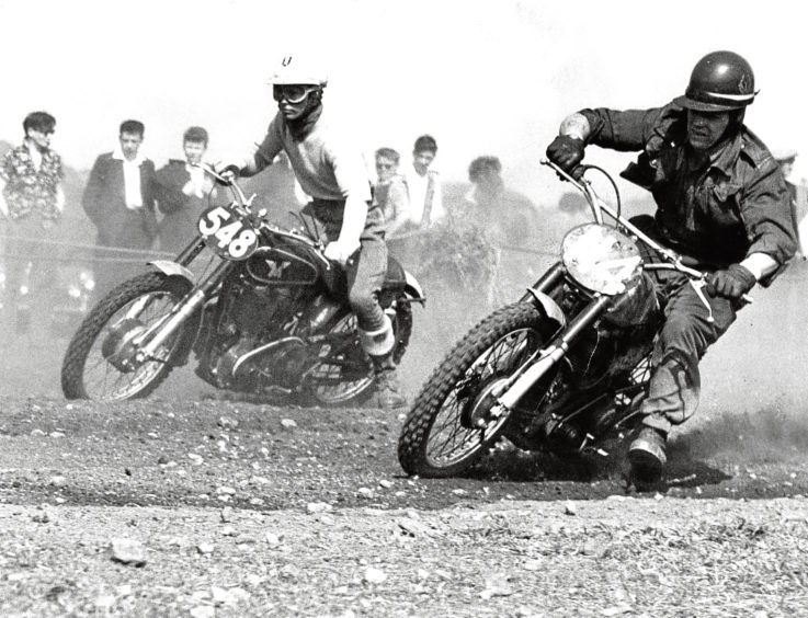 1960: The race is on at a track meeting at Milltimber.