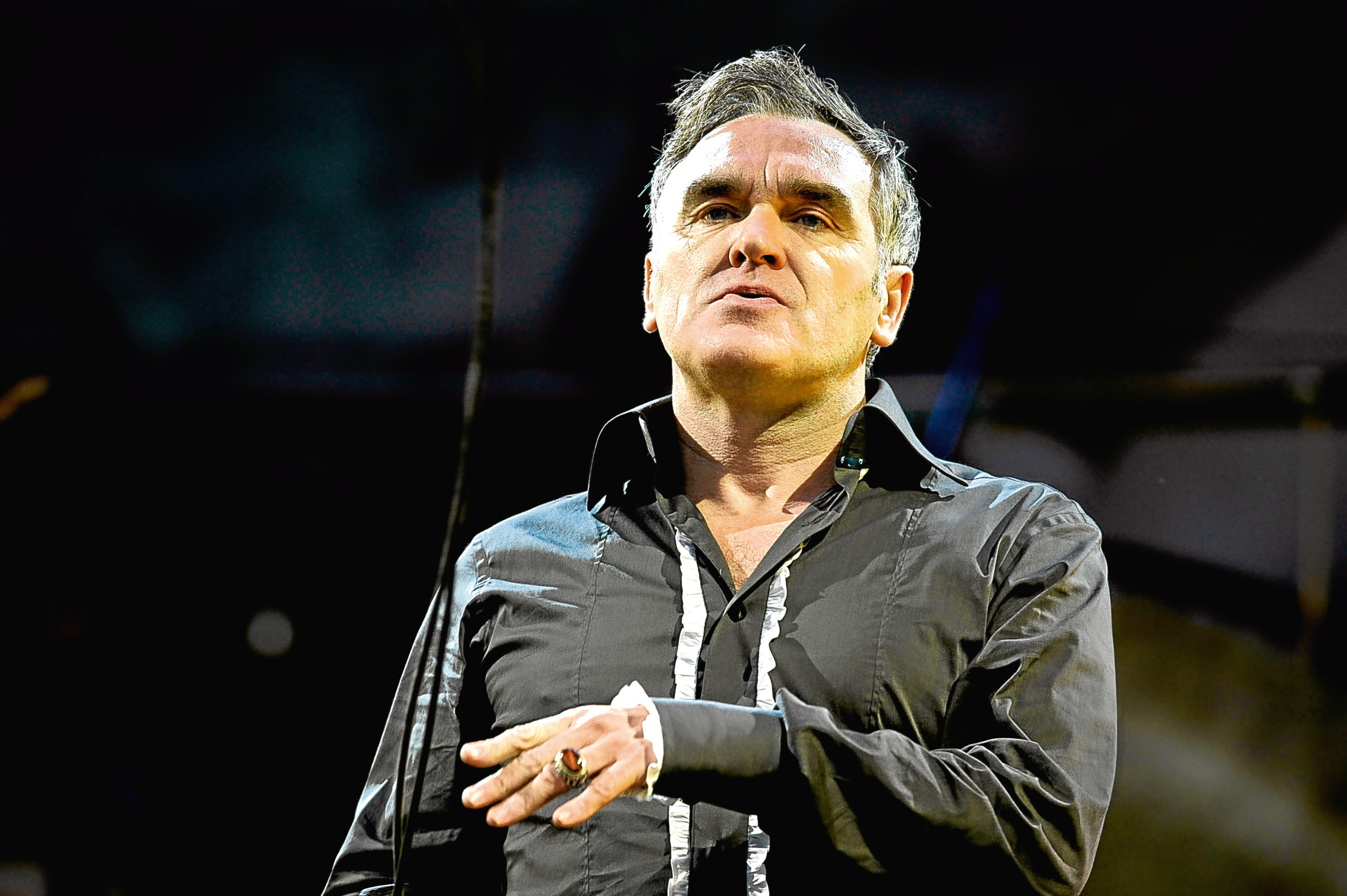 Morrissey is playing the AECC tomorrow.
