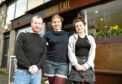 Allan Mollins, Teresa-Katharina Buchan and Cara Nicolson are behind the event at Cafe Bonobo.