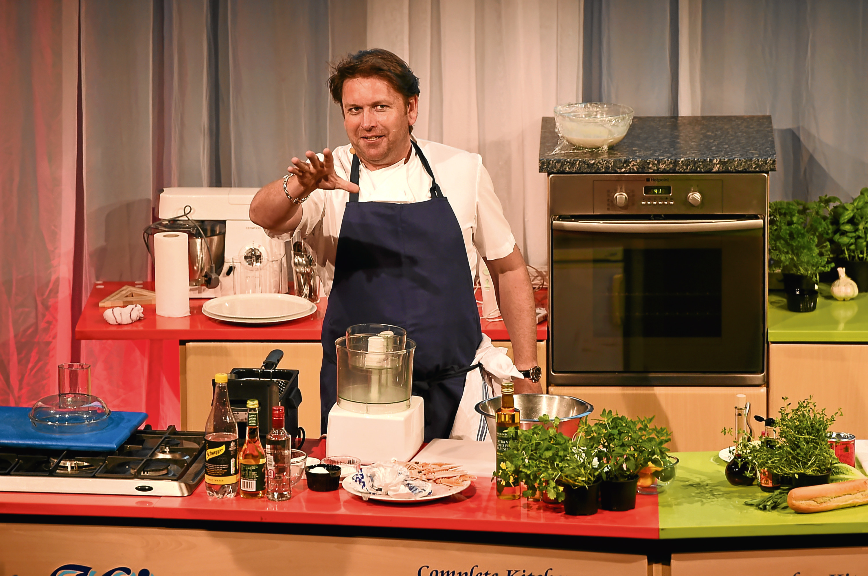 James Martin at The Taste of Grampian last year