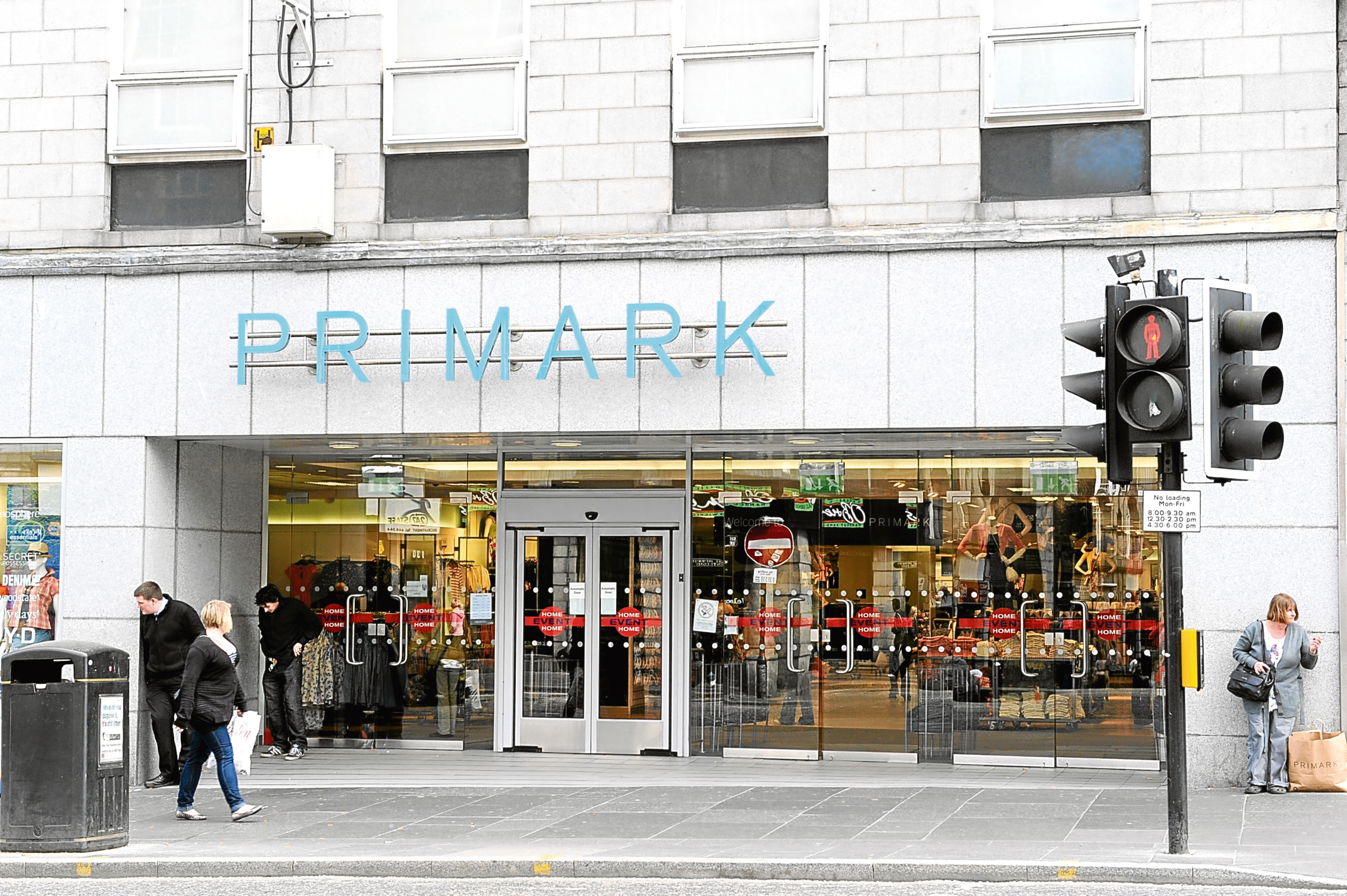 The Primark store on Union street