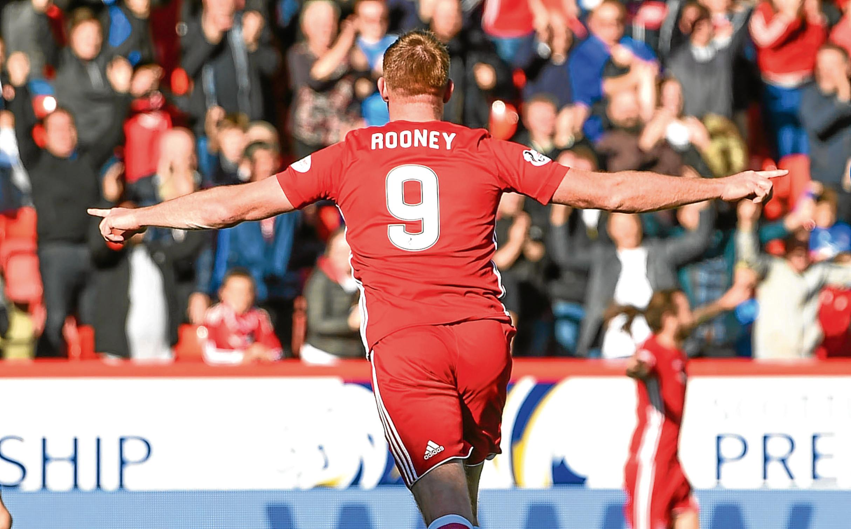 Aberdeen's Adam Rooney.