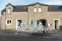 The supported housing complex suffered extensive damage in the incident.