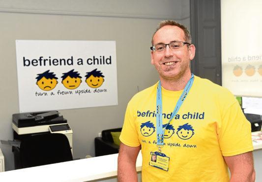 Richard Stewart at Befriend a Child