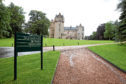 The Fyvie Estate has been closed