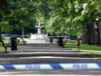 The man's body was found at Victoria Park in Aberdeen.