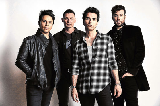 Stereophonics vividly remember the flavoured vodka shots from their first visit to Aberdeen.