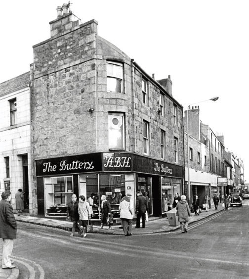 1986: The Buttery in George Street, Aberdeen, was due to close.